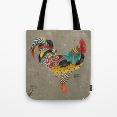 Rooster Mardi Tote Bag