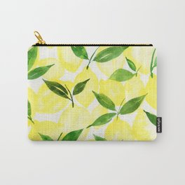 Happy Citrus Carry-All Pouch