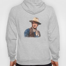 John Wayne - The Duke - Watercolor Hoody