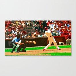 Batter #1 Canvas Print