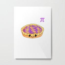 Funny Happy Pi Day Pie Math Gift for Teachers Men Women Kids T Shirt Metal Print