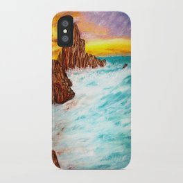 Sunset Beach iPhone Case
