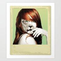 lindsay lohan Art Prints featuring Lindsay Lohan Is My Spirit Animal by Jason The Real McKoy