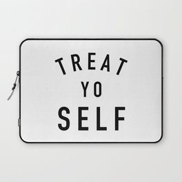 Treat Yo Self Laptop Sleeve