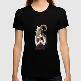 Skull Abstract Collage T-shirt