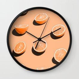Orange Delight Wall Clock