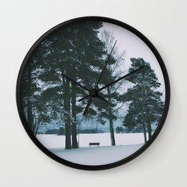 Winter IV Wall Clock