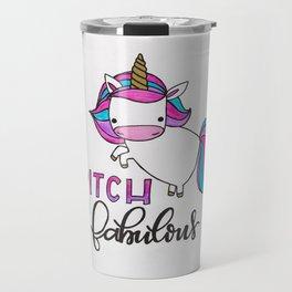 Sassy Unicorn Travel Mug