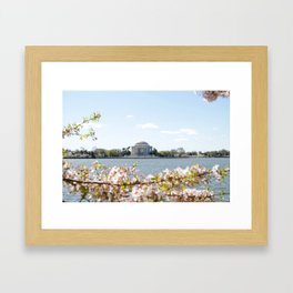 Jefferson Memorial Framed Art Print