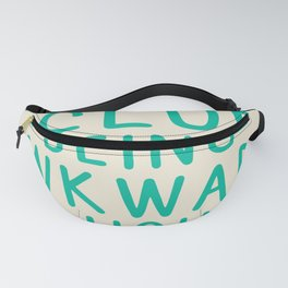 Special Skills   Laughing Loudly Fanny Pack
