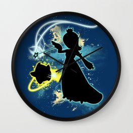 Super Smash Bros. Rosalina Silhouette Wall Clock