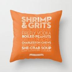 Charleston — Delicious City Prints Throw Pillow