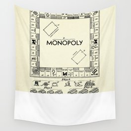 Board Game Apparatus-1935 Wall Tapestry