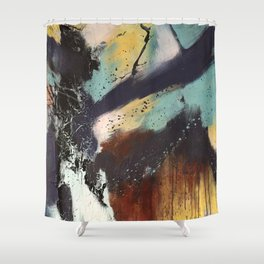 Executed Actions Shower Curtain