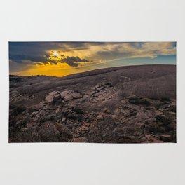 Sunset at Enchanted Rock Rug