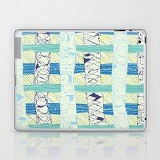 Doodled Checks Laptop & iPad Skin