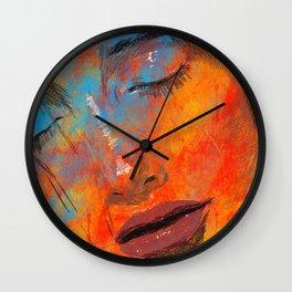 Digital Pain Wall Clock