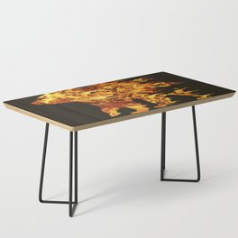 Fire Bear Coffee Table