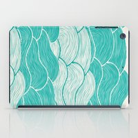 jazzberry iPad Cases featuring The Calm and Stormy Seas by Pom Graphic Design