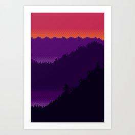 Landscape XIV Art Print