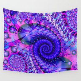 Fractal Frontier Wall Tapestry
