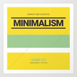 MINIMALISM #6 Art Print