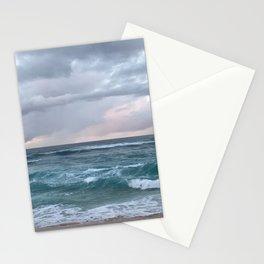 horizon in paradise Stationery Cards