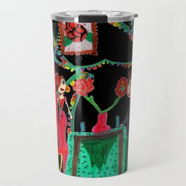Christmas Dinner | Kids Painting Travel Mug