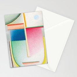 Alexej von Jawlensky - Abstrakter Kopf Inneres Schauen - Abstract Head Inner Vision Stationery Cards
