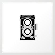 Rolleiflex 35C Art Print