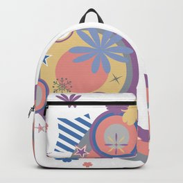 Abstract background Backpack