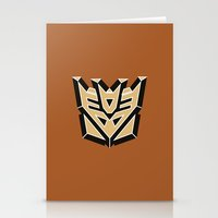 transformers Stationery Cards featuring Transformers by FilmsQuiz