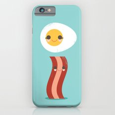 Bacon and Egg Buds iPhone 6 Slim Case