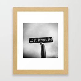 Lost Angel Rd Framed Art Print