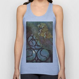 """The Bells"" Fairy Tale Art by Edmund Dulac Unisex Tank Top"