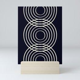 Life Balance Black Mini Art Print