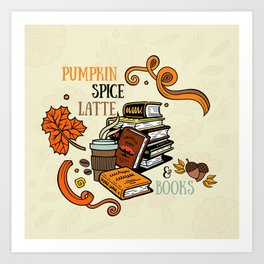 PSL & Books Art Print