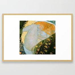 """Gustav Klimt """"Danaë"""" Framed Art Print"""