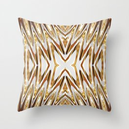Golden Melts : Butterfly Love Throw Pillow