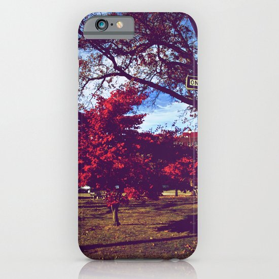 Fall My Way | Red iPhone & iPod Case