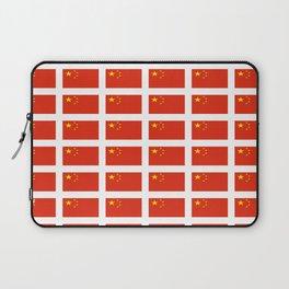 flag of china -中国,chinese,han,柑,Shanghai,Beijing,confucius,I Ching,taoism. Laptop Sleeve