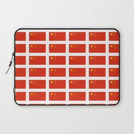 flag of china -中国,chinese,han,柑,Shanghai,Beijing,confucius,I Ching,taoism. Laptop Sleeve
