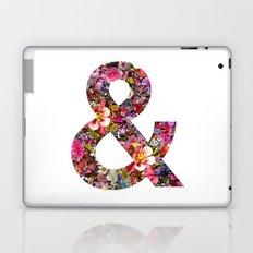 & ampersand print Laptop & iPad Skin