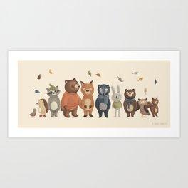 All Together Art Print