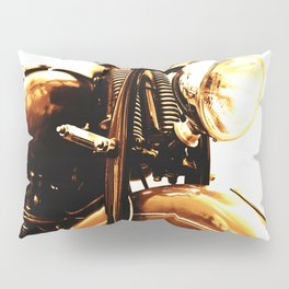 Motorcycle-Sepia Pillow Sham