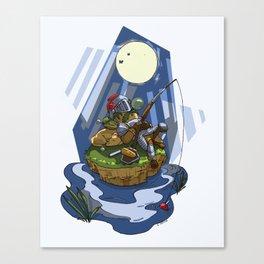 Fantasy Nap Canvas Print