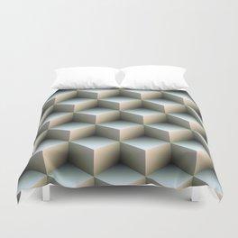 Ambient Cubes Duvet Cover
