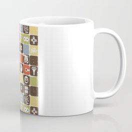 Robot face. Coffee Mug