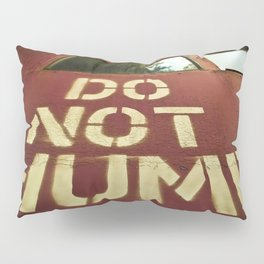 No Humping  Pillow Sham