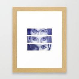 Stop & Stare Framed Art Print